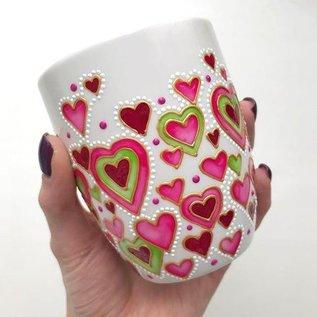 FARBE / MEDIA FLUID / MIXED MEDIA PeBeo Porcelaine, OUTLINERS, sneldrogende verf voor geglazuurd keramiek, porselein, glas, kleuren naar keuze!