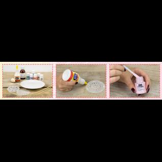 FARBE / MEDIA FLUID / MIXED MEDIA Pebeo color porcellana, set Discovery Pastel, 6x20ml