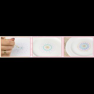 FARBE / MEDIA FLUID / MIXED MEDIA Pebeo Porzellan Farbe,  Discovery Pastel Set, 6x20ml