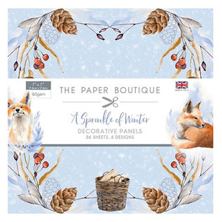Karten und Scrapbooking Papier, Papier blöcke NEU! Papierblock, A Sprinkle of Winter, 36 Blatt, 6x6 Designs,  20  x 20 cm, 160  gsm