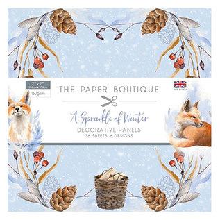 Karten und Scrapbooking Papier, Papier blöcke NIEUW! Papierblok, A Sprinkle of Winter, 36 vellen, 6x6 ontwerpen, 20 x 20 cm, 160 g / m2