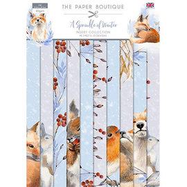Karten und Scrapbooking Papier, Papier blöcke NIEUW! Papierblok, A4, 120 g / m², 40 vellen, A Sprinkle of Winter Insert-collectie
