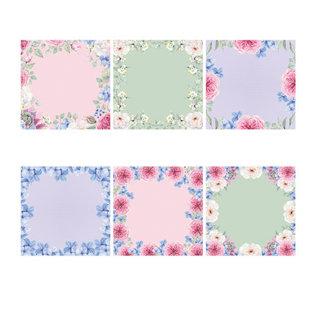 Karten und Scrapbooking Papier, Papier blöcke NUEVO! Bloque de papel, 36 hojas, 17 x 17 cm, 160 g / m2