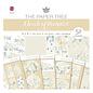 Karten und Scrapbooking Papier, Papier blöcke NIEUW! SET papierblok, romantiek, 52 vellen, 6x6 ontwerpen, 20 x 20 cm, 160/300 gsm + 32 toppers!