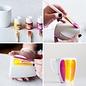 FARBE / MEDIA FLUID / MIXED MEDIA Pebeo porselein kleur, Discovery Pastel Set, 6x20ml