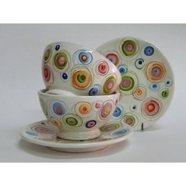 FARBE / MEDIA FLUID / MIXED MEDIA Color de porcelana Pebeo, Discovery Pastel Set, 6x20ml