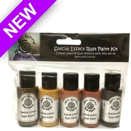 FARBE / MEDIA FLUID / MIXED MEDIA Cosmic Shimmer, 5 x 30 ml bottles, Special Effects Paint Kit-Rust