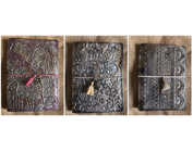 Modélisation avec pâte, pochoirs relief 3D, moules et accessoires