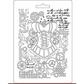 Stamperia und Florella Stamperia Soft Mold A5 Mannequin