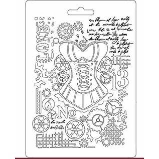 Stamperia und Florella Mannequin Stamperia Soft Mold A5