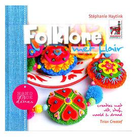 Bücher, Zeitschriften und CD / Magazines Ideeënboek met veel afbeeldingen van projecten met Vilz, 64 pagina's, tekst in Nl