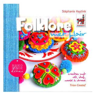 Bücher, Zeitschriften und CD / Magazines Livre d'idées avec de nombreuses photos de projets avec Vilz, 64 pages, texte en Nl