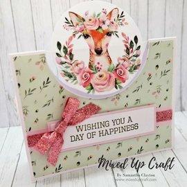 Karten und Scrapbooking Papier, Papier blöcke Kort og scrapbogpapir, A4, Magical Forest Insert Collection