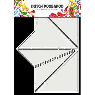"Dutch DooBaDoo A4, pop-up, kunstsjabloon, ""Card Art Tipi"""
