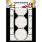 "Dutch DooBaDoo A4, Swingcard, Art Stencil, ""Card art Octagons"""
