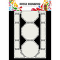 "Dutch DooBaDoo A4, Swingcard, Art Stencil, ""Carte art octogones"""