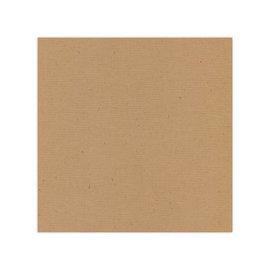 Designer Papier Scrapbooking: 30,5 x 30,5 cm Papier 10 hojas, lino, cartón kraft, 250 g / m2, capuchino marrón, 30,5 x 30,5 cm