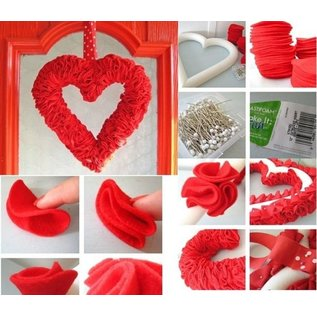Objekten zum Dekorieren / objects for decorating 1 Styrofoam vorm