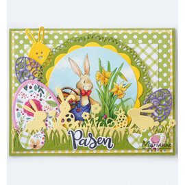 Marianne Design PUNCHING MODELLO, Doily duo, LR0592