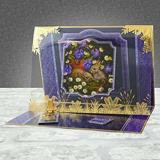 Hunkydory Luxus Sets Mirri Magic Topper Set - At the Bottom of the Garden