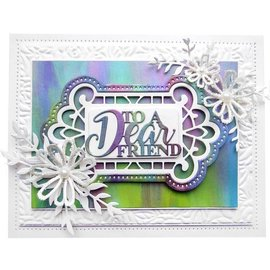 CREATIVE EXPRESSIONS und COUTURE CREATIONS PUNCHING MODELLO, Creative Expressions, Frames en Labels,  CED4388