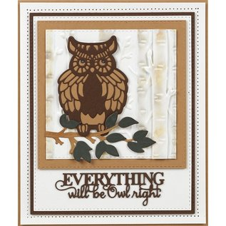 CREATIVE EXPRESSIONS und COUTURE CREATIONS cutting dies, Creative Expressions, Wise old Owl,  CED23030