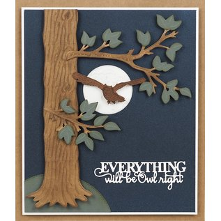 CREATIVE EXPRESSIONS und COUTURE CREATIONS cutting dies, Creative Expressions,  Moonlit Owl,  CED23031