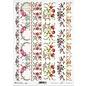DECOUPAGE AND ACCESSOIRES 1x decoupage, carta di riso, A4, vintage, nostalgia e pizzo. Scelta di 9 motivi diversi!