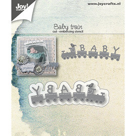 Joy!Crafts / Jeanine´s Art, Hobby Solutions Dies /  Snijmallen / Snijsjablonen, Baby Train