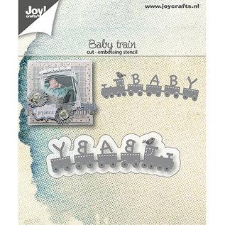 Joy!Crafts / Jeanine´s Art, Hobby Solutions Dies /  Snijmallen / Snijsjablonen, Baby Train