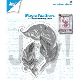 Joy!Crafts / Jeanine´s Art, Hobby Solutions Dies /  Snijmallen / Snijsjablonen, feather
