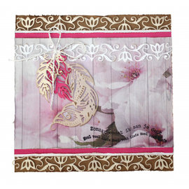 Joy!Crafts / Jeanine´s Art, Hobby Solutions Dies /  PUNCHING MODELLO, feather