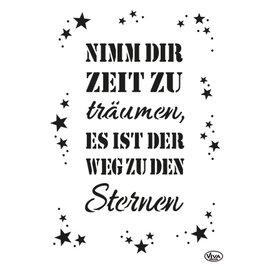Modellieren A3, plantilla de arte, con texto en alemán