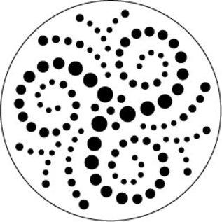 Modellieren Zen Pen - stencils, 3 delen, 9 cm diameter