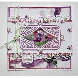 Joy!Crafts / Jeanine´s Art, Hobby Solutions Dies /  Stanzschablonen,  Jugendstil frame