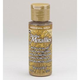 FARBE / MEDIA FLUID / MIXED MEDIA Elegant metallic farge gull, 59 ml