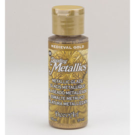 FARBE / MEDIA FLUID / MIXED MEDIA Elegante colore metallico dorato, 59 ml
