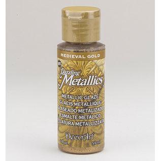 FARBE / MEDIA FLUID / MIXED MEDIA Elegante Metallic Farbe, Shimmering gold gold, 59 ml