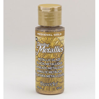 FARBE / MEDIA FLUID / MIXED MEDIA Elegante metallic kleur goud, 59 ml