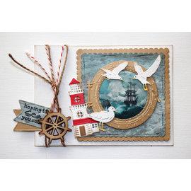 Joy!Crafts / Jeanine´s Art, Hobby Solutions Dies /  Snijmallen / Snijsjablonen,  Seagulls