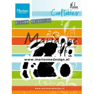 Marianne Design Snijmallen / Snijsjablonen, haas