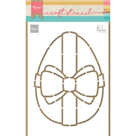 Dutch DooBaDoo Art template, large Easter egg, 149 x 210 mm