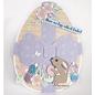 Dutch DooBaDoo Art template, large Easter egg, 149 x 210 mm