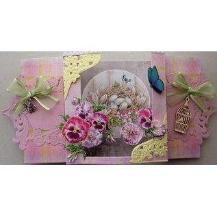 Marianne Design Foglio A4 con foto, mazzi di fiori
