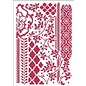 Modellieren Art stencil Stamperia A4 Mixed Tapestries, for modeling, relief, etc.