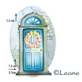 Joy!Crafts / Jeanine´s Art, Hobby Solutions Dies /  Stanzschablone: Tür mit Türkranz