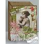 Vintage, Nostalgia und Shabby Shic A4 cutting - Romantisk Bilde
