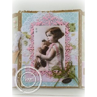 Vintage, Nostalgia und Shabby Shic A4 cutting sheet - Romantic Picture