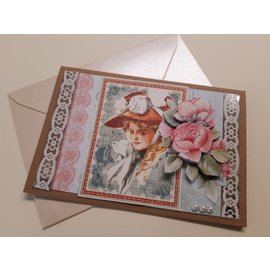 "GRAPHIC 45 Tarjetas y papel de scrapbooking, 30.5 x 30.5 cm, ""My Fair Lady"""