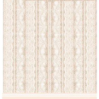 LaBlanche Designerpapier, romantik, Hochzeit, 30,5 x 30,5 cm, doppelseitig bedruckt